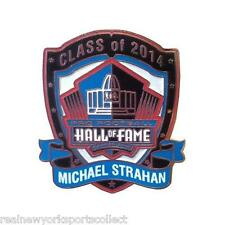 MICHAEL STRAHAN 2014 PRO FOOTBALL HALL OF FAME PIN NEW YORK GIANTS HOF