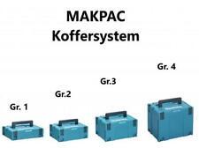 Makita Makpac Systemkoffer leer