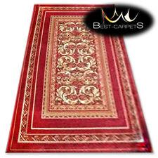 "TRADITIONAL AGNELLA RUGS claret frames ""STANDARD"" modern designs carpet"