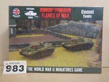 GIOCHI DI GUERRA WW II Flames OF WAR GIOCO Carri armati inglesi COMET 983