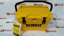 New DeWalt DXC10QT 10 Quart Heavy Duty Roto Molded Jobsite Work Cooler NWT