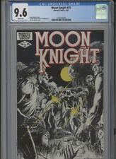MOON KNIGHT #21 NM 9.6 CGC WHITE PAGES MOENCH STORY SIENKIEWICZ COVER ALCAZAR AR