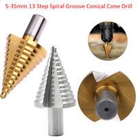 HSS Step Cone Drill M35 Set Metal Hole Cutter 3-12//4-12//4-20//4-32//5-35//4-42mm