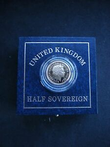 Royal Mint UK GOLD PROOF HALF SOVEREIGN 1983 to  2021 - Choose your year