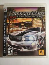 Midnight Club: Los Angeles (Sony PlayStation 3, 2008) - TESTED - COMPLETE - PS3