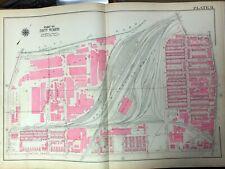 1925 NICETOWN PHILADELPHIA PENNSYLVANIA MIDVALE COMPANY 59 ENGINE CO. ATLAS MAP