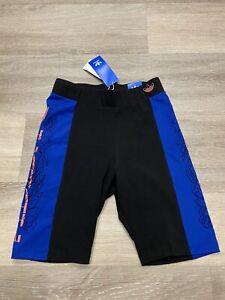 Adidas Cycling Shorts NWT Womens Size S GC6815 Black Blue