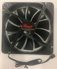 (2 Pack) Rosewill 140mm 1200R Case Fan 3 pin DF1402512SEMN New!