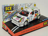 "Slot car Scalextric SCX 60340 Toyota Corolla ""Tein Sport"" Fujimoto/Sircombe #1"