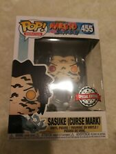Funko Pop Naruto Shippuden Sasuke Curse Mark + Free Protector