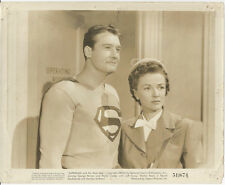 SUPERMAN AND THE MOLE MEN VINTAGE PHOTO GEORGE REEVES ,1951