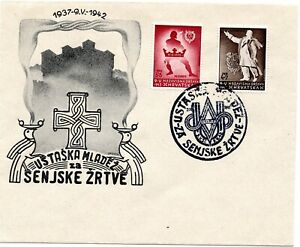 CROATIA NDH 1942 - FOR YOUTH - FIRST DAY COVER