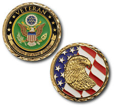 NEW U.S. Army Veteran Challenge Coin.
