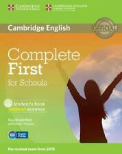 B2 - Complete first certificate for schools. Student's book without answer. B...