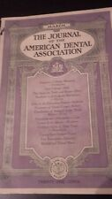 THE JOURNAL OF THE AMERICAN DENTAL ASSOCIATION VOL.10 1923 MARCH PORTRAIT ABE