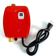 3000W Mini Instant Water Heater Kitchen Thermostatic Tankless Water Heating
