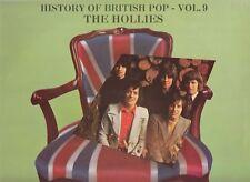 THE HOLLIES - History Of British Pop Vol. 9 [Best Of](Vinyl NM/NM-) Dutch Import