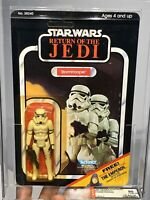 AFA 90 Star Wars 1983 Kenner Stormtrooper ROTJ 65-back-C (C85 B90 F90) Y-Mint