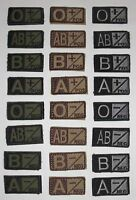 Condor 229 Blood Type Morale Patch - A B O AB +/-