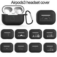 For AirPod PRO Charging Case Case Silicone Protective Cover Skin M0G7