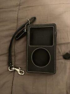 Coach Leather iPod Case Detach Wristlet Strap Coach