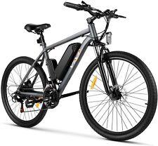 26'' Mountain Bicycle Electric Bike Ebike 21 Speed W/ Removable Li-Battery