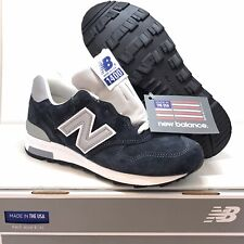 "New Balance Made In USA ""J Crew x 1400"" Collab Navy/Silver Men's Size 6 M1400NV"