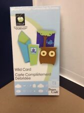 Cricut Cartridge - Wild Card - Gently Used - Complete!