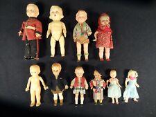 celluloid, plastic dolls lot