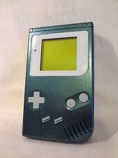Nintendo Game Boy DMG-001 Custom Paint Metallic Jade Glow In The Dark Console