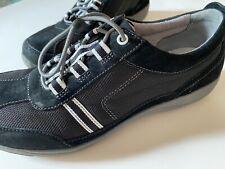 Dansko Helen Black Tie Suede Athletic Walking Comfort Shoes Women's EU 40 US 9.5