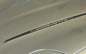 1984-1996 Corvette Hood Decal Red  C4