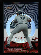 FRANK THOMAS 2005 TOPPS FINEST #36 REFRACTOR PARALLEL #268/399 AY7789