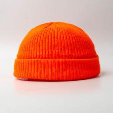 Men Women Knit Baggy Beanie Warm Winter Hat Ski Slouchy Fisherman Docker Hat Cap