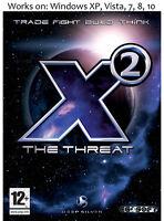 X2: The Threat PC Game Windows XP Vista 7 8 10