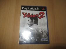 YAKUZA 2 SONY PLAYSTATION 2 PS2 BRAND NEW SEALED uk pal version