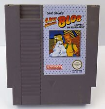 Nintendo NES - A Boy and his Blob - Trouble on Blobolonia - NES-B5-NOE