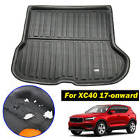 Tailored Cargo Boot Liner Tray Trunk Floor Mat Carpet For Volvo XC40 2017-2019