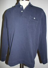 "Vintage Polo Sport Ralph Lauren Navy Blue Pullover ""Polo Sport"" on Pocket Sz L"