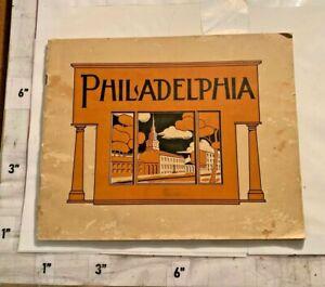 1905 Philadelphia PA 48 pgs Black & White Photos Liberty Bell Navy Yard Masonic
