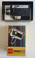 Kodak Instamatic M30 Vintage Movie Camera Super 8 - Collectible, Untested