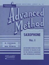 Rubank Advanced Method for Saxophone Volume 1 Sheet Music Book Learn How To Play