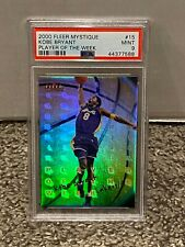 2000 Fleer Mystique Player of the Week #15 - KOBE BRYANT - PSA 9 Mint - LAKERS