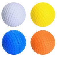 12Pcs/set PU Golf Ball Soft Foam Golf Training Balls Practice Ball 4 Colors
