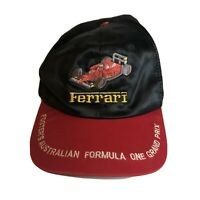 Vintage 80s Fosters Cap Formula One Satin OOAK Hat RARE Grail Embroidered F1