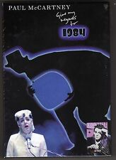 Paul McCartney Give my regards for 1984   8 CD & 7 DVD  Box  Set