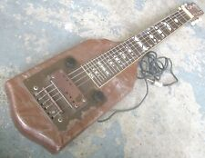 1947 Supro Supreme Lap Steel Guitar. Made in Chicago by Valco. Works.