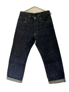 Sugarcane classic cinch back selvage denim size 30, made in Japan,+ measurement