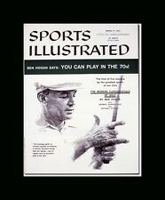 SI Cover Ben Hogan Single  Matted and Framed Ready 3/11/57