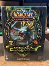 New Sealed World of Warcraft WOW Murkdeep Champion Deck Murloc Monster